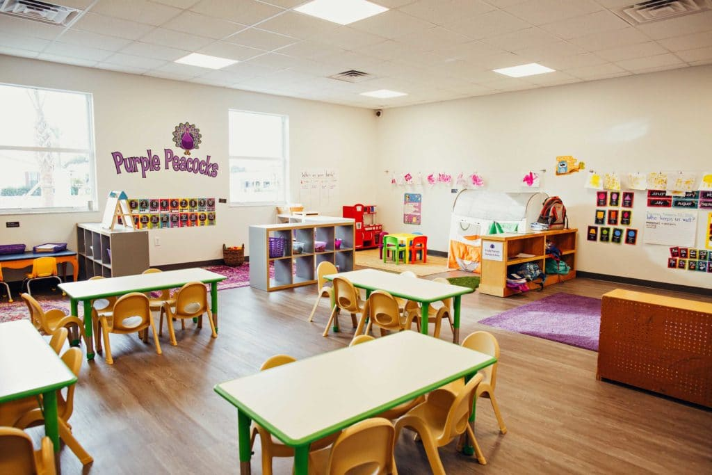 Purple Peacocks Classroom at Boom Academy