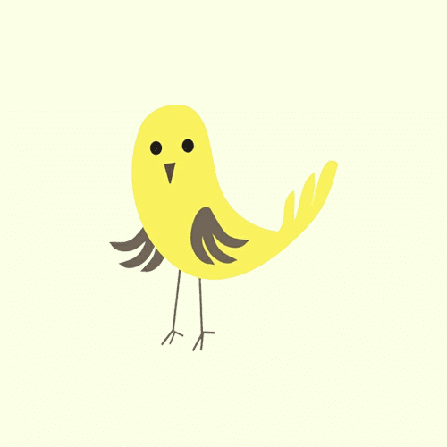 Yellow Canaries Classroom Symbol